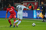 06.11.2019, BayArena, Leverkusen, Championsleague, Vorrunde, 4. Spieltag, GER, UEFA  CL, Bayer 04 Leverkusen (GER) vs. Atletiko Madrid (ESP),<br />  <br /> UEFA regulations prohibit any use of photographs as image sequences and/or quasi-video<br /> <br /> im Bild / picture shows: <br /> foul von Wendell (Leverkusen #18), an Santiago Arias (Atletico Madrid #4), <br /> <br /> Foto © nordphoto / Meuter<br /> <br /> <br /> <br /> Foto © nordphoto / Meuter