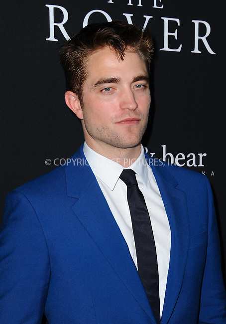 ACEPIXS.COM<br /> <br /> June 12 2014, LA<br /> <br /> Robert Pattinson arriving at the 'The Rover' - Los Angeles Premiere at the Regency Bruin Theatre on June 12, 2014 in Los Angeles, California.<br /> <br /> By Line: Peter West/ACE Pictures<br /> <br /> ACE Pictures, Inc.<br /> www.acepixs.com<br /> Email: info@acepixs.com<br /> Tel: 646 769 0430