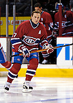 16 January 2007: Montreal Canadiens right wing forward Alexei Kovalev (27) of Russia warms up prior to facing the Vancouver Canucks at the Bell Centre in Montreal, Canada. The Canucks defeated the Canadiens 4-0.Mandatory Credit: Ed Wolfstein Photo *** Editorial Sales through Icon Sports Media *** www.iconsportsmedia.com