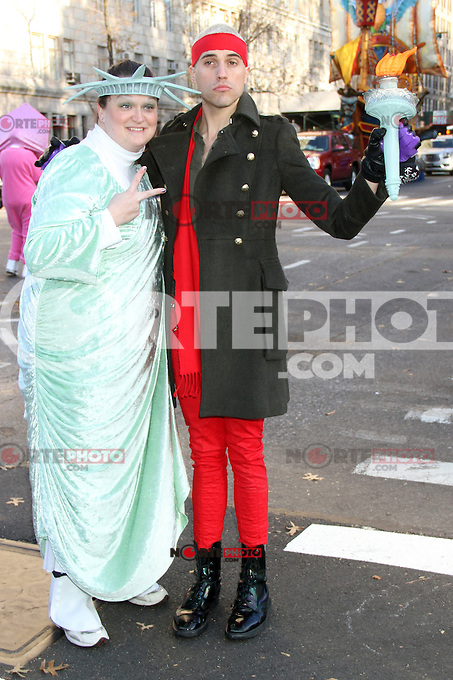 NEW YORK, NY - NOVEMBER 22: Tyler Glenn at the 86th Annual Macy's Thanksgiving Day Parade on November 22, 2012 in New York City. Credit: RW/MediaPunch Inc. /NortePhoto
