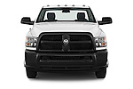 Car photography straight front view of a 2016 Ram Ram-3500-Pickup Tradesman-Regular-cab 4 Door Pick-up Front View