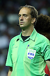22 July 2015: Assistant Referee Daniel Belleau (CAN). The Panama Men's National Team played the Mexico Men's National Team at the Georgia Dome in Atlanta, Georgia in a 2015 CONCACAF Gold Cup semifinal match. Mexico won the game 2-1 after extra time.