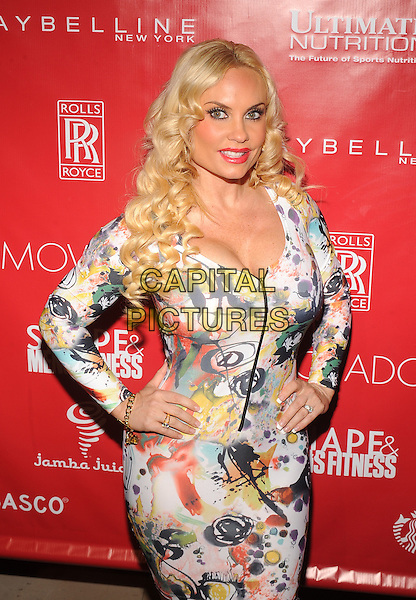 New York,NY- January 31: Nicole 'Coco' Austin at SHAPE &amp; Men's Fitness Kickoff Party at Cipriani 42nd Street on January 31, 2014.  <br /> CAP/MPI/RTNStevens<br /> &copy;RTNStevens/MediaPunch/Capital Pictures