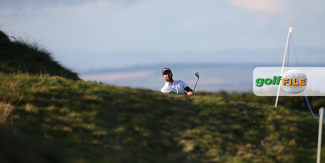 John Parry (ENG) on the last during R3 at Kingsbarns of the 2014 Alfred Dunhill Links Championship, The Old Course, St Andrews, Fife, Scotland. Picture:  David Lloyd / www.golffile.ie