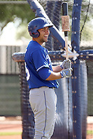 Eric Hosmer #25 of the Kansas City Royals participates in minor league spring training workouts at the Royals complex on March 26, 2011  in Surprise, Arizona. .Photo by:  Bill Mitchell/Four Seam Images.