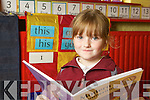 Sole started in Mountcollns NS was Kerry-Ann O'Connor, who started in Junior Infants last Monday.