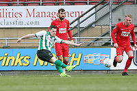 Spaetan's Daniel Maguire first half shot during Leyton Orient vs Blyth Spartans, Buildbase FA Trophy Football at The Breyer Group Stadium on 2nd February 2019