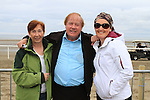 Frank Godfrey with Carmel walsh and Gwen Lama at the Laytown races.(Photo credit should read Jenny Matthews www.newsfile.ie)....This Picture has been sent you under the conditions enclosed by:.Newsfile Ltd..The Studio,.Millmount Abbey,.Drogheda,.Co Meath..Ireland..Tel: +353(0)41-9871240.Fax: +353(0)41-9871260.GSM: +353(0)86-2500958.email: pictures@newsfile.ie.www.newsfile.ie.