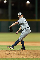 AZL Padres 1 relief pitcher Tom Colletti (53) delivers a pitch during an Arizona League game against the AZL Cubs 1 at Sloan Park on July 5, 2018 in Mesa, Arizona. The AZL Cubs 1 defeated the AZL Padres 1 3-1. (Zachary Lucy/Four Seam Images)