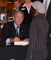George W. Bush Book Signing <br /> Event At Billy Graham Library <br /> Charlotte North Carolina <br /> By Jonathan Green