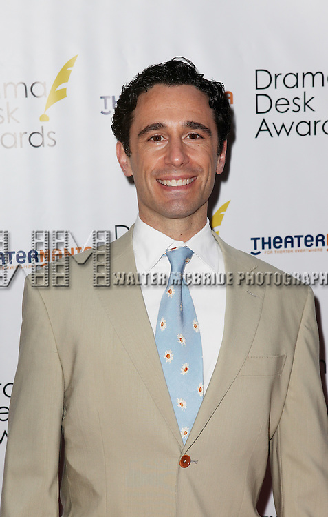 Christopher Gattelli pictured at the 57th Annual Drama Desk Awards held at the The Town Hall in New York City, NY on June 3, 2012. © Walter McBride