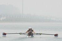 Beijing, CHINA, USA JW2X, Bow, Cara LINNENKOHL and Alexanda JAPHET, during the  2007. FISA Junior World Rowing Championships Shunyi Water Sports Complex. Wed. 08.08.2007  [Photo, Peter Spurrier/Intersport-images]..... , Rowing Course, Shun Yi Water Complex, Beijing, CHINA,