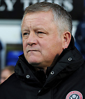 Sheffield United manager Chris Wilder <br /> <br /> Photographer Hannah Fountain/CameraSport<br /> <br /> The EFL Sky Bet Championship - Ipswich Town v Sheffield United - Saturday 22nd December 2018 - Portman Road - Ipswich<br /> <br /> World Copyright © 2018 CameraSport. All rights reserved. 43 Linden Ave. Countesthorpe. Leicester. England. LE8 5PG - Tel: +44 (0) 116 277 4147 - admin@camerasport.com - www.camerasport.com