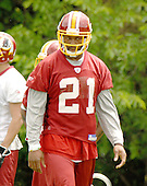 Ashburn, VA - June 16, 2007 -- Washington Redskin safety Sean Taylor (21) watches as his teammates participate in day 2 of their second and final mini-camp at Redskin Park in Ashburn, Virginia on Saturday, June 16, 2007..Credit: Ron Sachs / CNP