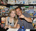 """Days Of Our Lives - Wally Kurth & Melissa Reeves meet the fans as they sign """"Days Of Our Lives Better Living"""" on September 27, 2013 at Books-A-Million in Nashville, Tennessee. (Photo by Sue Coflin/Max Photos)"""