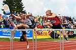 26.05.2019, Mösle / Moesle - Stadion, Götzis / Goetzis, AUT, 45. Hypomeeting Goetzis 2019, Zehnkampf, 110 m Huerden<br /> im Bild Maicel Uibo (EST), Markus Nilsson (SWE)<br /> <br /> Foto © nordphoto / Hafner