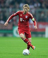 Fussball DFB Pokal:  Saison   2011/2012  2. Runde  26.10.2011 FC Bayern Muenchen - FC Ingolstadt 04 Anatoliy Tymoshchuk  (FC Bayern Muenchen)