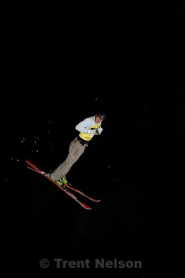 Trent Nelson     The Salt Lake Tribune.Anton Kushnir, Belarus, Aerials competition, Freestyle FIS World Cup at Deer Valley Friday, January 15, 2010.