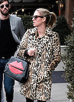 www.acepixs.com<br /> <br /> February 1 2017, New York City<br /> <br /> Socialite and handbag designer Nicky Hilton Rothschild wears an amimal print coat as she walks around her East Village neighborhood on February 1 2017 in New York City<br /> <br /> <br /> <br /> <br /> By Line: Curtis Means/ACE Pictures<br /> <br /> <br /> ACE Pictures Inc<br /> Tel: 6467670430<br /> Email: info@acepixs.com<br /> www.acepixs.com