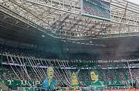 SÃO PAULO, SP, 02.12.2018 - PALMEIRAS-VITÓRIA- Torcida do Palmeiras durante partida contra o Vitória em jogo válido pela 38ª rodada do Campeonato Brasileiro no estádio Allianz Parque em São Paulo, neste Domingo, 02. (Foto: Anderson Lira/Brazil Photo Press)