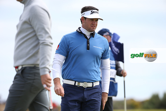 Ricardo Gouveia (POR) during the First Round of the 2016 Aberdeen Asset Management Scottish Open, played at Castle Stuart Golf Club, Inverness, Scotland. 07/07/2016. Picture: David Lloyd | Golffile.<br /> <br /> All photos usage must carry mandatory copyright credit (&copy; Golffile | David Lloyd)