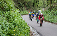 breakaway group speeding down<br /> <br /> 52nd Amstel Gold Race (1.UWT)<br /> 1 Day Race: Maastricht &rsaquo; Berg en Terblijt (264km)