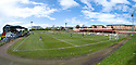General view of Cliftonhill, home of Albion Rovers FC