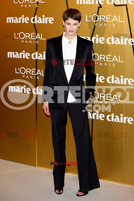 Saskia de Brauw attends Marie Claire Prix de la Moda awards 2012 at French Embassy in Madrid. November 22, 2012. (ALTERPHOTOS/Caro Marin) /NortePhoto
