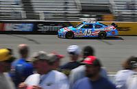 May 2, 2008; Richmond, VA, USA; NASCAR Sprint Cup Series driver Kyle Petty during practice for the Dan Lowry 400 at the Richmond International Raceway. Mandatory Credit: Mark J. Rebilas-