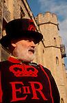Tower of London, London, England, John Mahre, Yoeman Gaoler, Beefeaters, United Kingdom, Europe