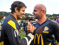 170105 McDonalds Super Smash T20 Cricket Semifinal - Wellington Firebirds v Canterbury Wizards