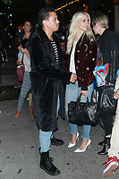 NEW YORK, NY - SEPTEMBER 11: Evan Ross and Ashlee Simpson seen on September 11, 2017 in New York City. <br /> CAP/MPI/DC<br /> &copy;DC/MPI/Capital Pictures