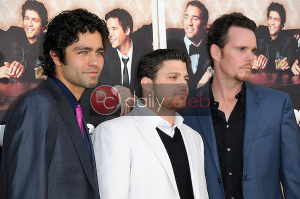 Adrian Grenier with Jerry Ferrara and Kevin Dillon<br />