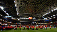 2005 British & Irish Lions vs Pumas [ Argentina], at The Millennium Stadium, Cardiff, WALES match played on  23.05.2005, Pre game entertainment.Photo  Peter Spurrier. .email images@intersport-images...