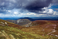 Abernethy National Nature Reserve from Bynack More, Cairngorm National Park, Badenoch & Speyside