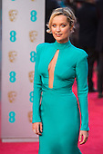 London, UK. 14 February 2016. Pictured: Laura Whitmore. Red carpet arrivals for the 69th EE British Academy Film Awards, BAFTAs, at the Royal Opera House. © Vibrant Pictures/Alamy Live News
