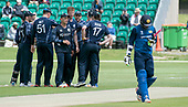 Cricket Scotland - Scotland V Sri Lanka at Kent County cricket ground at Benkenham, in the first of two matches on Sunday (today and Tuesday) - another wicket falls - picture by Donald MacLeod - 21.05.2017 - 07702 319 738 - clanmacleod@btinternet.com - www.donald-macleod.com