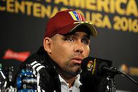 Copa America, Venezuela Press Conference, June 8, 2016
