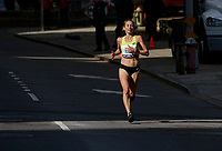 NEW YORK NY - NOVEMBER 03: A  elite runner compete during the New York City Marathon on New York City on November 03, 2019.  (Photo by Kena Betancur/VIEWpress)
