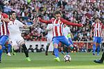 Atletico de Madrid's Antoine Griezmann during La Liga match between Atletico de Madrid and Sevilla CF at Vicente Calderon Stadium in Madrid, Spain. March 19, 2017. (ALTERPHOTOS/BorjaB.Hojas)