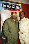 Lamman Rucker and Demetrius Grosse star in Layon Gray's Black Angels Over Tuskegee - The Story of the Tuskegee Airman on February 7, 2010 and continuing. Check it out at www.theblackgents.com (Photo by Sue Coflin/Max Photos)