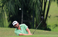 Casey O'Toole (USA) on the 10th during Round 2 of the Maybank Championship at the Saujana Golf and Country Club in Kuala Lumpur on Friday 2nd February 2018.<br /> Picture:  Thos Caffrey / www.golffile.ie<br /> <br /> All photo usage must carry mandatory copyright credit (&copy; Golffile | Thos Caffrey)
