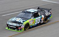 May 1, 2009; Richmond, VA, USA; NASCAR Sprint Cup Series driver Carl Edwards during practice for the Russ Friedman 400 at the Richmond International Raceway. Mandatory Credit: Mark J. Rebilas-