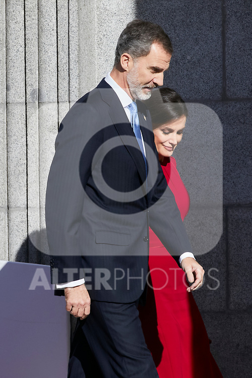 King Felipe VI of Spain and Queen Letizia of Spain attends to 40 Anniversary of Spanish Constitution at Congreso de los Diputados in Madrid, Spain. December 06, 2018. (ALTERPHOTOS/A. Perez Meca)