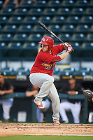 Palm Beach Cardinals first baseman Casey Grayson (29) at bat during a game against the Bradenton Marauders on August 8, 2016 at McKechnie Field in Bradenton, Florida.  Bradenton defeated Palm Beach 5-4 in 11 innings.  (Mike Janes/Four Seam Images)