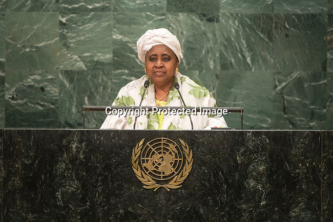 Gambia<br /> H.E. Ms. Isatou Njie Saidy<br /> Vice-President<br /> <br /> <br /> General Assembly Seventy-first session 10th plenary meeting<br /> General Debate