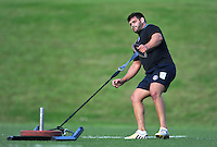 Rob Webber in action. Bath Rugby pre-season training session on August 18, 2014 at Farleigh House in Bath, England. Photo by: Patrick Khachfe/Onside Images