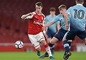 16/04/2018 Arsenal v Blackpool FAYC Semi 2L<br /> <br /> Robbie Burton