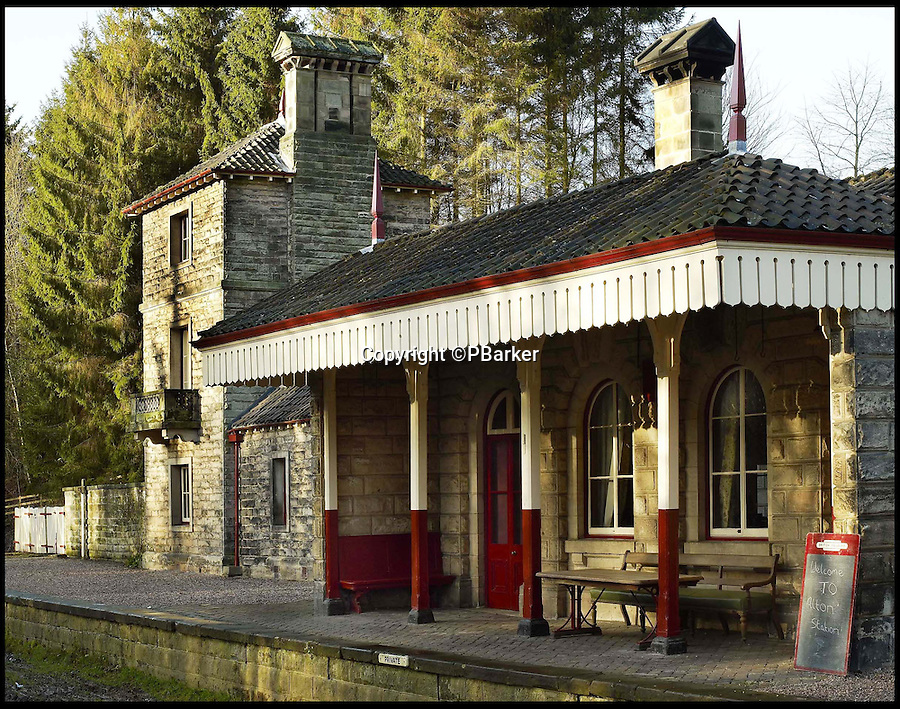 BNPS.co.uk (01202 558833)<br /> Pic: LandmarkTrust/BNPS<br /> <br /> Alton Station in Hampshire.<br /> <br /> Fully booked...Holidays less ordinary spark a booking frenzy in Brits.<br /> <br /> A charity which rents out historic buildings around Britain is celebrating a boom in business that has seen some of its properties booked out years in advance.<br /> <br /> The Landmark Trust has transformed almost 200 of the country's quirkiest buildings - from medieval castles to Tudor towers and even a former pig sty - into unique holiday homes.<br /> <br /> And they have become so popular with Brits looking for unusual places to escape to that some buildings are fully booked until 2016.<br /> <br /> Top of the most popular properties are Luttrell's Tower, a Georgian folly near Southampton, Hants, and Astley Castle, a Saxon stronghold dating back to the 12th century in Nuneaton, Warks.<br /> <br /> Other favourites include a Victorian pigsty near Whitby, North Yorks, which was built in the style of a Greek temple, and the London townhouse of 20th century poet John Betjeman.<br /> <br /> The buildings have become such a hit among holidaymakers that they are willing to fork out thousands of pounds to stay in them.<br /> <br /> While prices start at 10 pounds a night for cosy cottages in winter, a seven-night stay at the most popular properties in the height of summer can cost up to 3,000 pounds.<br /> <br /> But the fees are then ploughed back into the upkeep and restoration of the properties.