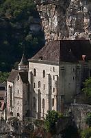 Europe/Europe/France/Midi-Pyrénées/46/Lot/Rocamadour: Le village perché et la cité religieuse et ses sanctuaires
